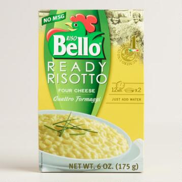 Riso Bello Ready Risotto, Four Cheese, Set of 6